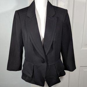 White House Black Market 14 Black Blazer Jacket